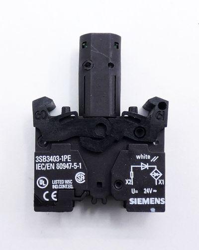 2x Siemens 3SB3 244-6BA70-0CC0 E-Stand: 05 Leuchtmelder -unused/OVP- – Bild 4