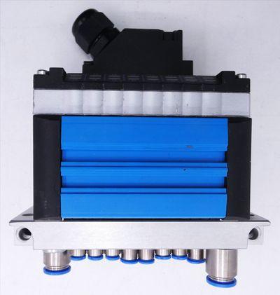 Festo CPV10-GE-MP-8 + CPV-10-VI + CPV10-VI-P8-M7-B + 161414 Ventilinsel -used- – Bild 5