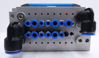 Festo CPV10-GE-MP-8 + CPV-10-VI + CPV10-VI-P8-M7-B + 161416 Ventilinsel -used-  – Bild 8