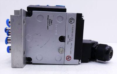 Festo CPV10-GE-MP-6 + CPV-10-VI + CPV10-VI-P6-M7-B + 4x 161415 Ventilinsel -used – Bild 7