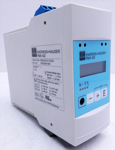 Endress+Hauser RMA 422 RMA422-B11A22A FW: 1.12 Prozess Transmitter -unused/OVP-  – Bild 4