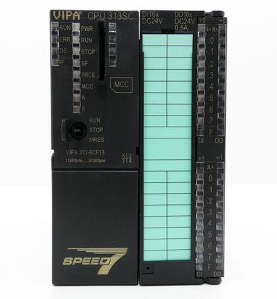 VIPA Speed 7 CPU 313SC 313-6CF13 E-Stand: 1 128KB - 512KB -used- – Bild 2