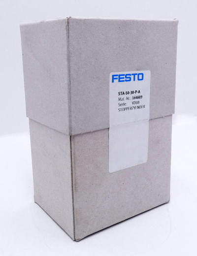 Festo STA-50-30-P-A 164889 p max. 10 bar Stopperzylinder -sealed- – Bild 1