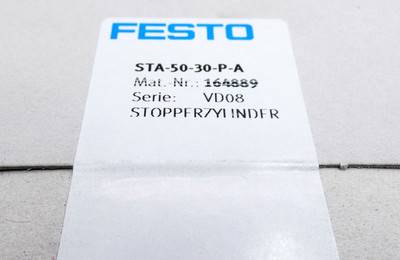 Festo STA-50-30-P-A 164889 p max. 10 bar Stopperzylinder -sealed- – Bild 3