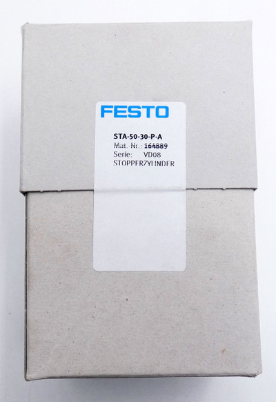 Festo STA-50-30-P-A 164889 p max. 10 bar Stopperzylinder -sealed- – Bild 4