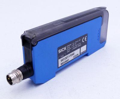 Sick WI130T-P340 6032851 Lichtleiter-Sensor -used- – Bild 1