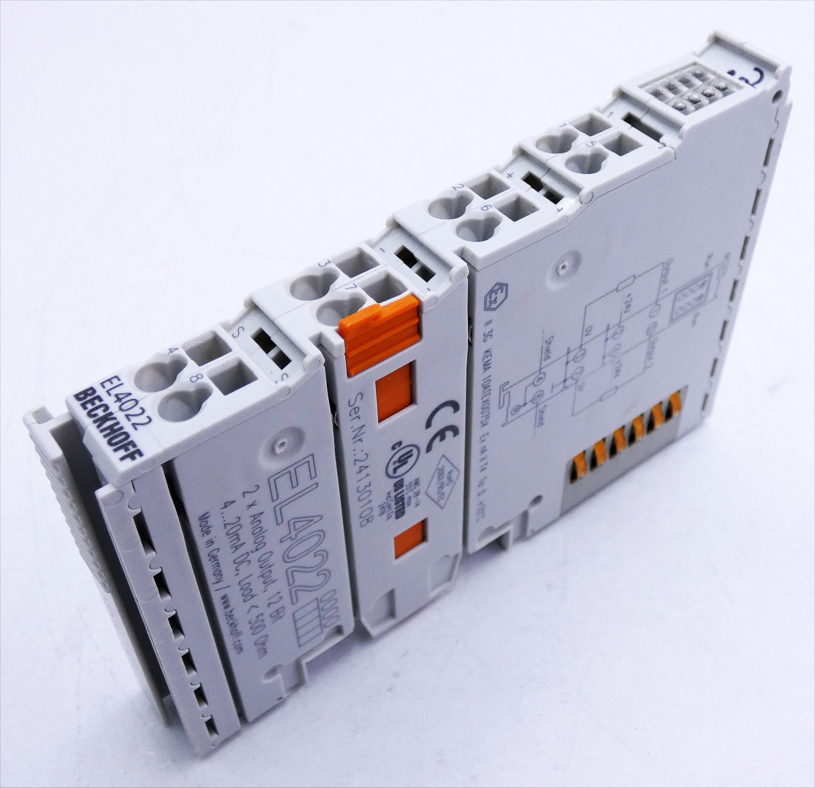 Beckhoff KL4012 2x Analog Output 0-20 mA unbenutzt