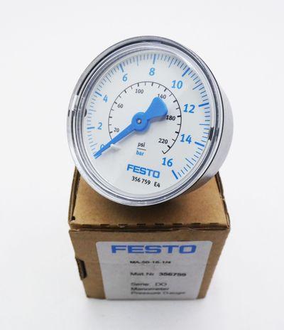 Festo MA-50-16-1/4 356759 0-16 bar Manometer  -unused/OVP- – Bild 1