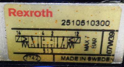 Rexroth 5x 2510510300 + 10x 04938 349 08 Ventilinsel -used- – Bild 2