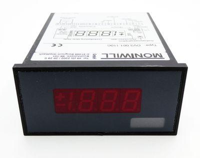 Montwill DV3.001.110C 230VAC Digitaler Messgerät -unused/OVP- – Bild 2