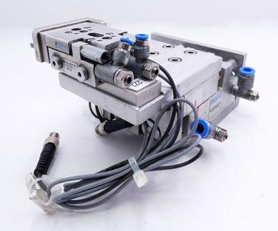 Festo SLT-16-30-A-CC-B 197895 + SLT-6-10-P-A 170549 Mini-Schlitten -used- – Bild 1