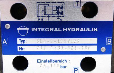 Integral Hydraulik SLA-6-100/022 25-100bar Ventil -unused- – Bild 2