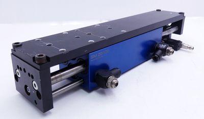 Afag SM 20/120 Kompaktschlitten + Bernstein KIB-Q08PS/1,5-KLSM8 Sensor -used- – Bild 1