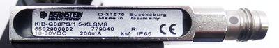 Afag SM 16/030 Linearmodul + Bernstein KIB-Q08PS/1,5-KLSM8 Sensor -used- – Bild 4