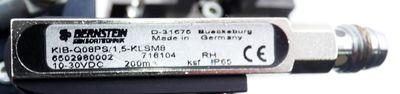 Afag DM 12 Drehmodul + GZQ 12 Greifer + Bernstein KIB-Q08PS/1,5-KLSM8 -used- – Bild 5