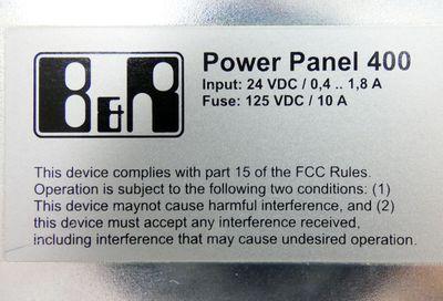 B&R Automation 4PP420.1043-K19 Rev. C0 Power Panel 400+1A4603.00-2 Rev. C0 -used – Bild 4