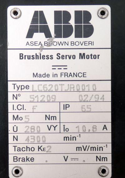 ABB LC620TJR0010 Brushless Servo Motor -used- – Bild 3