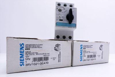 2x Siemens 3RV1021-0FA10 E-Stand: 05 Leistungsschalter -used/OVP- – Bild 1