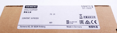 10x Siemens 6ES7 590-5BA00-0AA0 E-Stand: 01 Shield Support -sealed- – Bild 4
