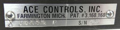 ACE Controls PAT.#3,168,168 A 1.5x3,5 F S/N HU Stossdämpfer -used- – Bild 3
