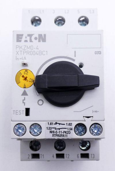 3x Eaton PKZM0-4 XTPR004BC1 Motorschutzschalter -used- – Bild 3