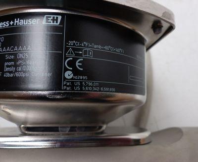 Endress+Hauser 80F25-26E6/0 80F25-AFTSAAACAAAA Durchflussmesser -used- – Bild 4