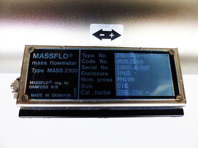 Danfoss Mass 2100 2121B01---00AA Mass flowmeter 083L2243 -unused/OVP- – Bild 2