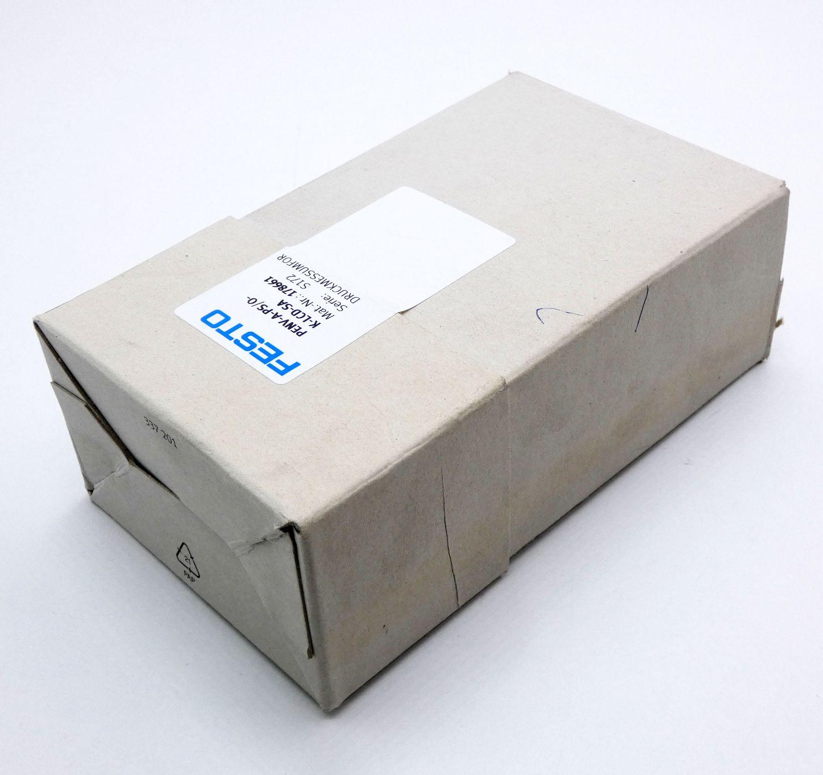 FESTO Druck-Messumformer PENV-A-PS//O-K