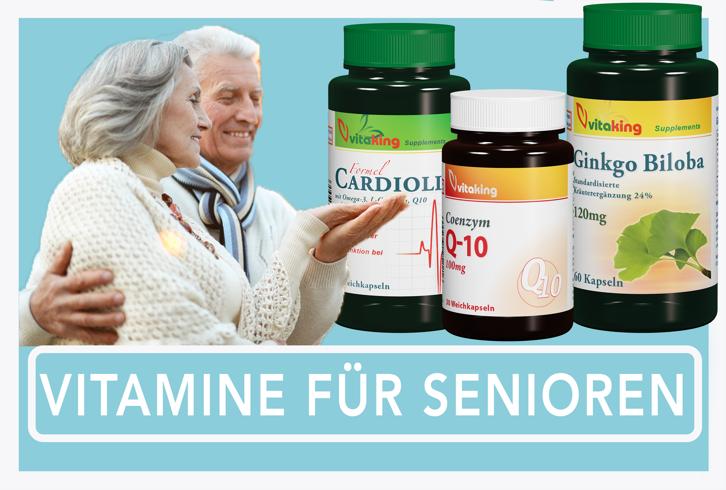 Vitamin-Paket für Senioren