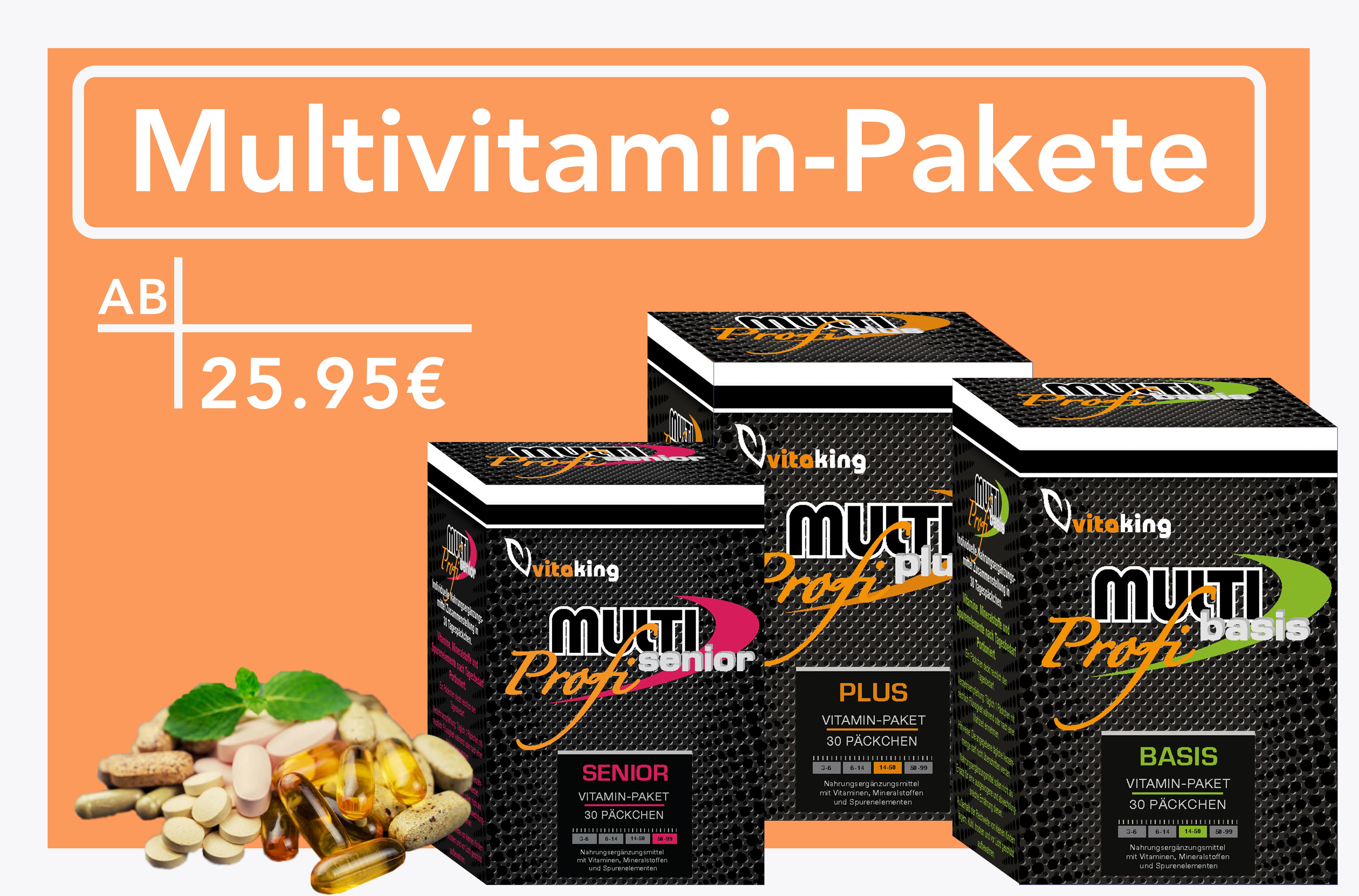 Multivitamin-Pakete