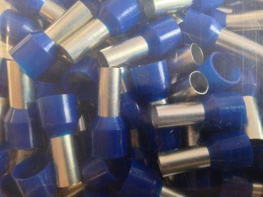 Aderendhülsen isoliert 16 qmm DIN blau VE=100