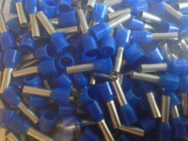 Aderendhülsen isoliert 2,5 qmm DIN blau VE=500