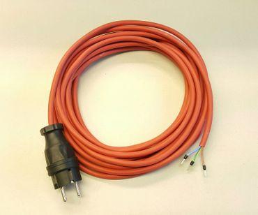 Geräteanschlusskabel SIHF Silikon Wärmebeständig 3x1,5 40m rot/braun Länge