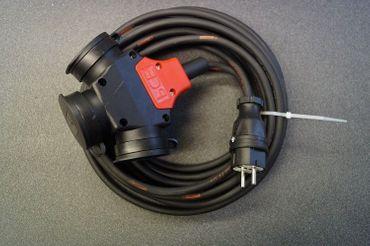 Verlängerungskabel H07RN-F 3x2,5 3-Wege PCE Kupplung robust IP44 ab 2m