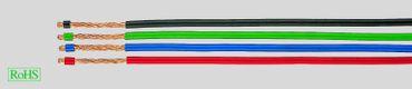 LifY 4 mm² Einzelader feinstdrähtig höchst flexibel 100m hochflexibel farben