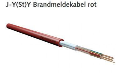 Brandmeldekabel BMK JYSTY 10x2x0,8 Brandmelde ROT 100m