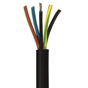 Gummileitung H07RN-F 5x4 5G4 mm² Gummikabel Baustellenkabel 100m