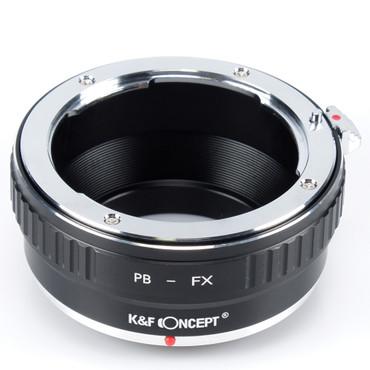 K&F Concept Objektivadapter für Praktica B Objektive an Fujifilm Kamera mit X-Bajonett
