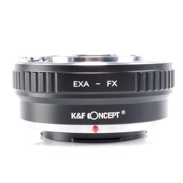 K&F Concept Objektivadapter für Exakta Objektive an Fujifilm Kameras mit X-Bajonett