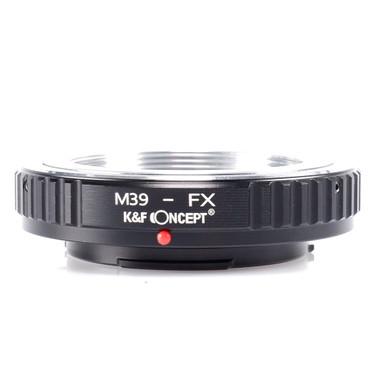 K&F Concept Objektivadapter für Leica M39 Objektive an Fujifilm Kameras mit X-Bajonett