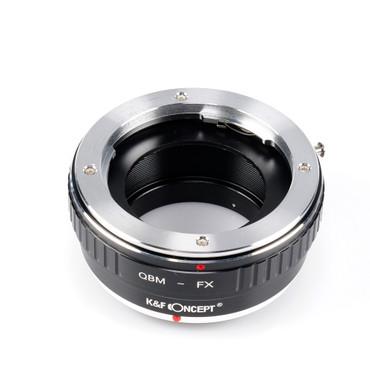 K&F Concept Objektivadapter für Rollei Objektive an Fujifilm Kamera mit X-Bajonett