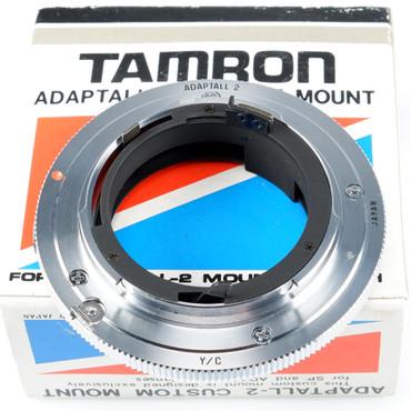 Tamron Adapter Adaptall 2 für Contax MM Multi Mode Modell 55CB neuwertig Gelegenheit