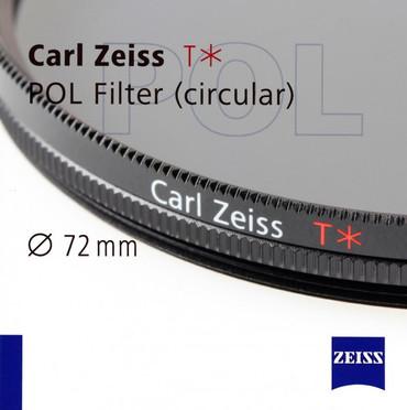 Zeiss Polfilter Zirkular mit T* Vergütung, 72,0 mm
