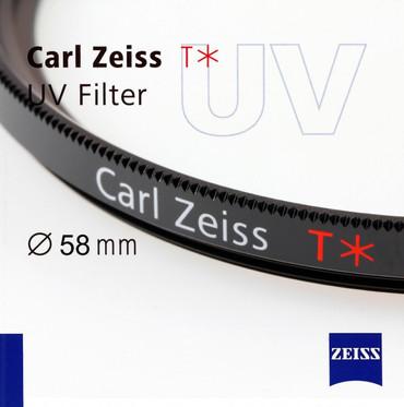 Zeiss UV-Filter mit T* Vergütung, 58,0 mm