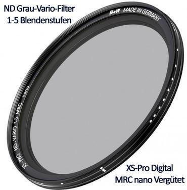 B+W Vario-Grau-Filter  95,0 mm  Schneider MPTV MRC nano