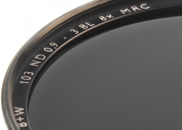 B+W Graufilter 103 ND 0,9  8x   40,5 mm  F-Pro Digital  +3 Blenden MRC vergütet