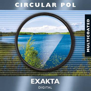 EXAKTA Polfilter Cirkular,  MC vergütet,  55,0 mm