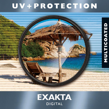 EXAKTA UV + Protection Filter,  MC vergütet,  77,0 mm