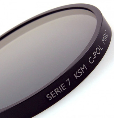 B+W Polfilter Zirkular Käsemann MRC vergütet Serie 7 (50,8 mm)