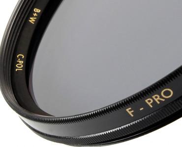 B+W Polfilter Zirkular  S03 Einschicht vergütet 37,0 mm F-PRO  Digital